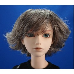 Ian Wig Brown & Gray Size 8-9